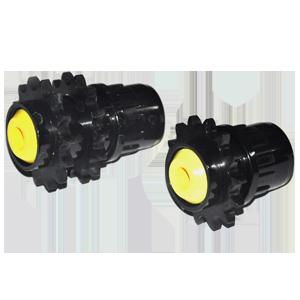 D50*1,5/12.Z14 Double 08B2-Z14 Plastik Rulo Başlığı